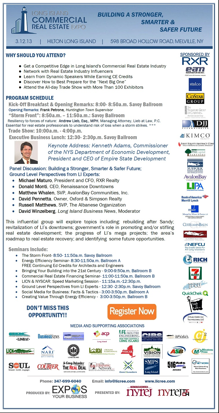 The Long Island Commercial Real Estate Expo