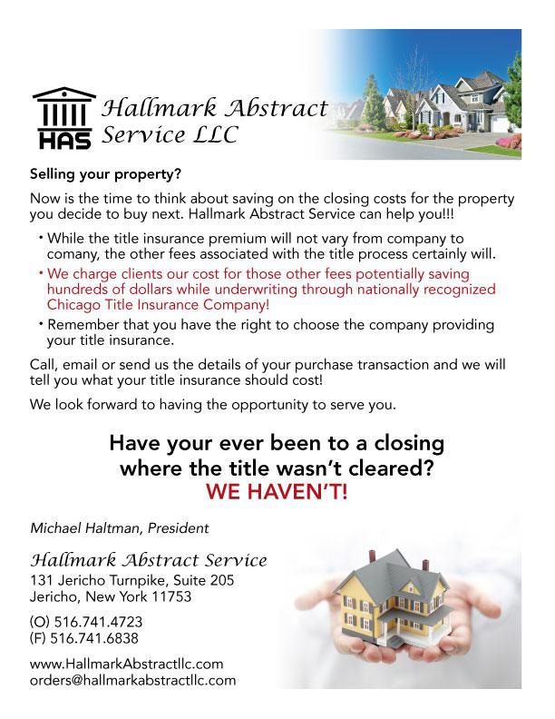 Hallmark Mailbox Flyer
