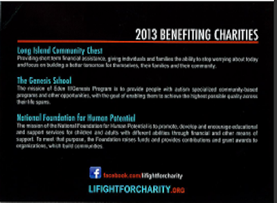 LIFFC Benefiting Charities